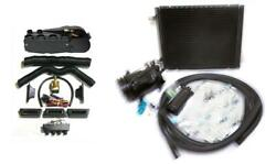 Gearhead Ac Heat Defrost Air Conditioning Super Kit + Fittings Compressor Vents