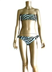 By Tom Ford 1996 Runway And Ad James And039bondand039 Strapless Side Buckle Bikini