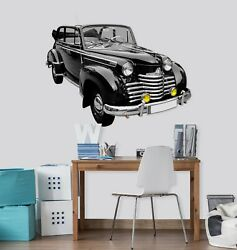 3d Oldtimer O05 Car Wallpaper Mural Poster Transport Wall Stickers Amy