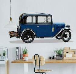 3d Oldtimer O07 Car Wallpaper Mural Poster Transport Wall Stickers Amy