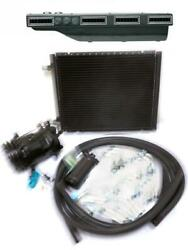 Gearhead Slimline Ac Heat Defrost A/c Air Conditioning Kit W Compressor Fittings