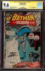 Batman 240 Cgc 9.6 Ow/white Dc, 1972 Neal Adams Signature And Cover