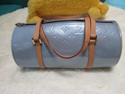 LOUIS VUITTON women's designer BLUE VERNIS BEDFORD bag