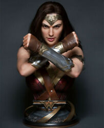 Wonder Woman Bust 1/1 Scale Life size Resin Model Queen Studios Pre-order