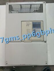 1pc Yaskawa Inverter Cimr-f7a4055 Is In Good Condition