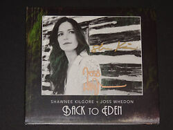 Joss Whedon And Shawnee Kilgore Signed Autographed Back To Eden Cd Exact Proof