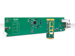 Aja Og-fido-r 1-ch Sm Lc Fiber To 3g-sdi Extender Rx With Dashboard Support