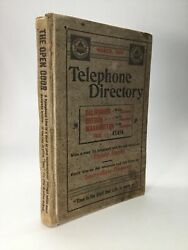 List Of Subscribers Of The Pacific States Telephone Companies March 1899
