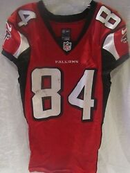 Roddy White Atlanta Falcons Game Used Home Jersey Oct. And03914 - Psa Cert