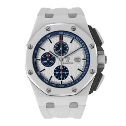 Audemars Piguet Royal Oak Offshore White and Blue Ceramic 44MM Chronograph