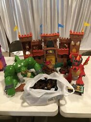Fisher-price Imaginext Eagle Talon Castle With Ogre And Dragon With Figures