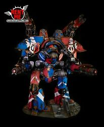 WARHAMMER 40K Forgeworld Warlord Titan Magnetized Painted & Ready to Ship PAP