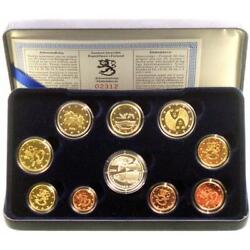 Finland Kms 2006 Pf 1 Cent - 2 Euro Commemorative Coin Case Proof Certificate