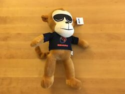 Official Nfl Licensed Chicago Bears Plush Monkey With Sun Glasses 14