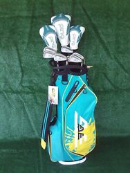Ladies Ping TaylorMade Irons Driver Woods New Bag Complete Golf Club Set Womens