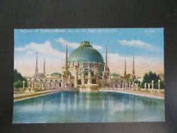 Postcard Palace of Horticulture Pan Pacific Exposition 1915