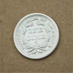 1857-o Us Liberty Seated Dime Gem Bu Condition Better Date Low Mintage A-871