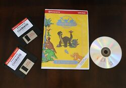 Husqvarna Viking Machine Embroidery Designs Cd Disk Land Before Time Collection
