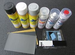 Spray Can Valspar Base Coat Touch Up Paint For 1999 - 2006 Mitsubishi Galant