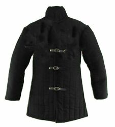 Mouse Over Image To Zoom Gambeson-thick-padded-medieval-coat-aketon-vest-jacket-