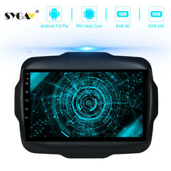 Android 9.0 Car Radio For 2016-2017jeep Renegade Stereo Gps Navigation Head Unit