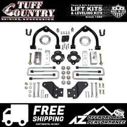 Tuff Country 4 Spacer Block Uca Lift Shock Ext. Fits 2017-2019 Nissan Titan 4wd