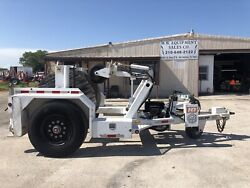 HOGG DAVIS H-135PP CABLE REEL LIFT TAKE-UP RETRIEVER TRAILER UTILITY DOLLY PULL