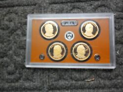 2012 Proof Presidential Dollar Set. No Coa Or Box. Just Sleeve It Came In.