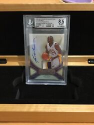 2008-09 EXQUISITE COLLECTION PLAYER BOX PATCH AUTO KOBE BRYANT /24