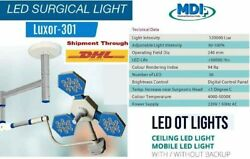 New Hospital Led Surgical Ot Light Operating Theater Required Lux Intensity