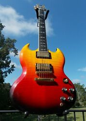 GIBSON SG SUPREME LAVABURST 2007 VERY RARE VERY GOOD CONDITION