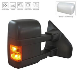 Textured Right Side Mirror Power Power Folding Heated w/Signal 128-4259