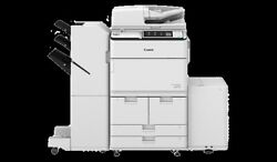 CANON  6575 I BLACK AND WHITE DIGITAL COPIER, PRINTER WITH STAPLING FINISHER