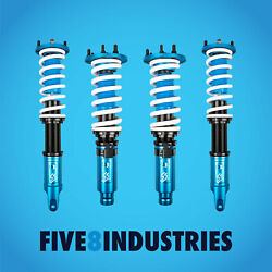 Five8 Industries Coilovers Height Adjustable For Acura Tsx 2009-2014 Cu2