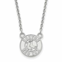 Ss Mlb Boston Red Sox Sm Pendant W/necklace