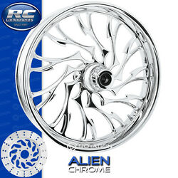 Rc Components Alien Chrome Custom Motorcycle Wheel Harley Touring Baggers 21