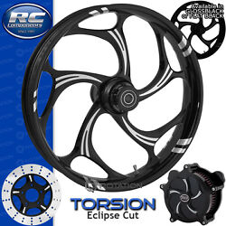 Rc Components Torsion Eclipse Custom Motorcycle Wheel Harley Touring Baggers 21