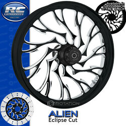 Rc Components Alien Eclipse Custom Motorcycle Wheel Harley Touring Baggers 21