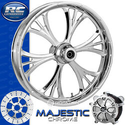 Rc Components Majestic Chrome Custom Motorcycle Wheel Harley Touring Baggers 21