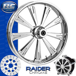 Rc Components Raider Chrome Custom Motorcycle Wheel Harley Touring Baggers 21