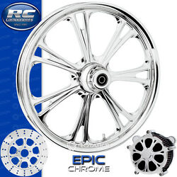 Rc Components Epic Chrome Custom Motorcycle Wheel Harley Touring Baggers 21
