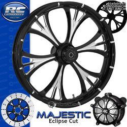 Rc Components Majestic Eclipse Custom Motorcycle Wheel Harley Touring Baggers 21