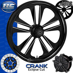 Rc Components Crank Eclipse Custom Motorcycle Wheel Harley Touring Baggers 21