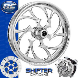 Rc Components Shifter Chrome Custom Motorcycle Wheel Harley Touring Baggers 21