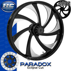 Rc Components Paradox Eclipse Custom Motorcycle Wheel Harley Touring Baggers 21