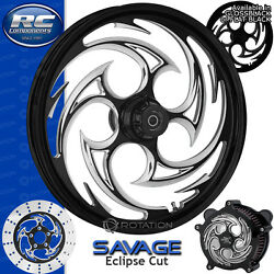 Rc Components Savage Eclipse Custom Motorcycle Wheel Harley Touring Baggers 21