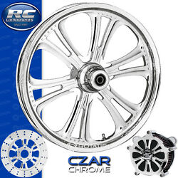 Rc Components Czar Chrome Custom Motorcycle Wheel Harley Touring Baggers 21