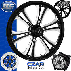 Rc Components Czar Eclipse Custom Motorcycle Wheel Harley Touring Baggers 21