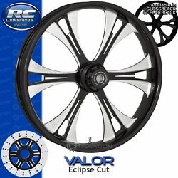Rc Components Valor Eclipse Custom Motorcycle Wheel Harley Touring Baggers 21
