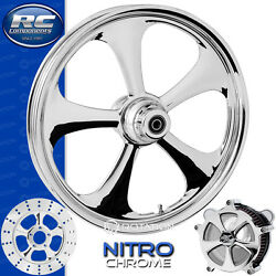 Rc Components Nitro Chrome Custom Motorcycle Wheel Harley Touring Baggers 21